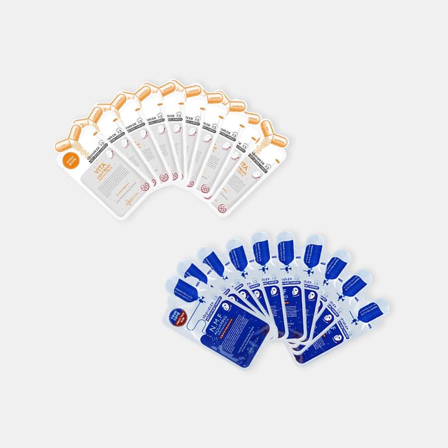 Mediheal Ampoule Masks EX (20 Sheets)