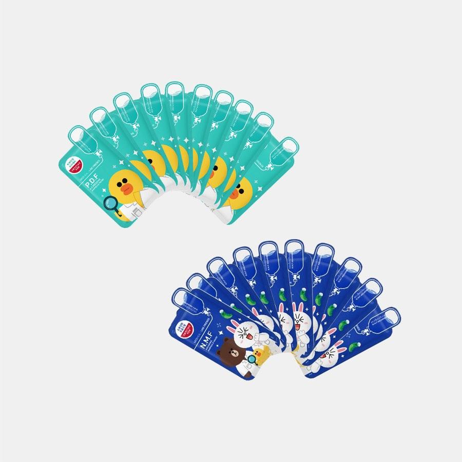 Mediheal Line Friends Ampoule Masks 20 Sheets Price Reviews Mask Massdrop