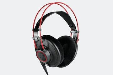 Massdrop x AKG K7XX headphones in red