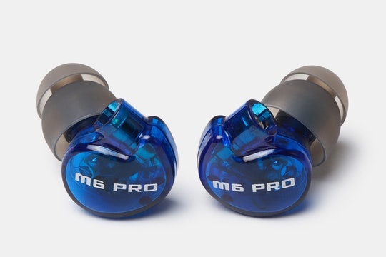 MEE Audio M6 Pro Limited-Edition Blue IEMs