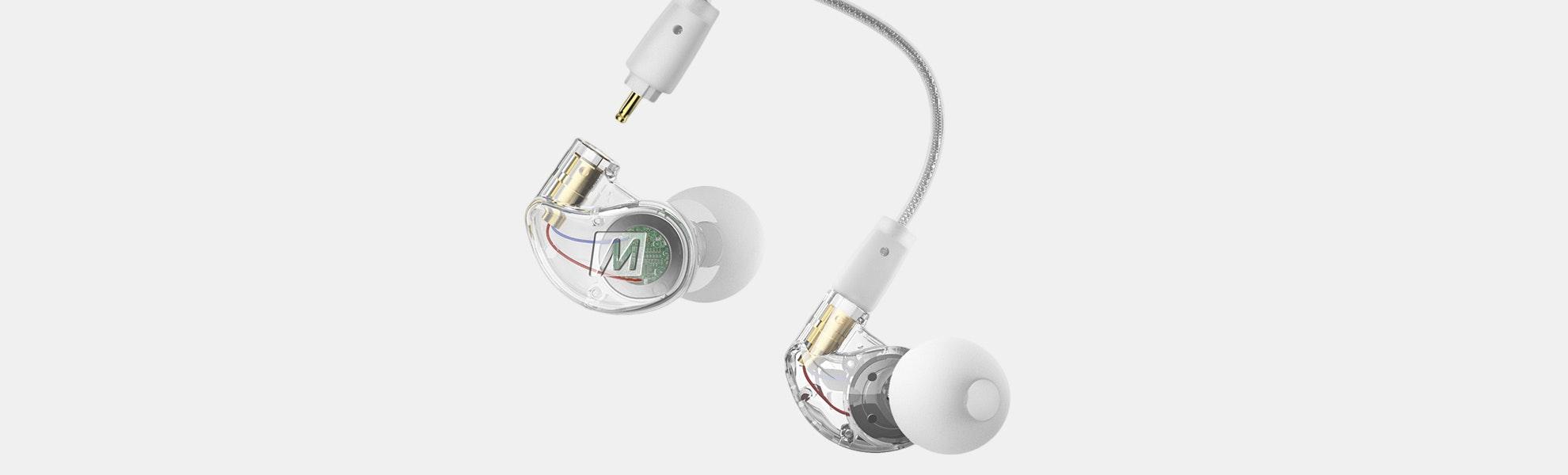 MEE audio M6 Pro 2nd Gen w/ BTC1 Bluetooth Cable