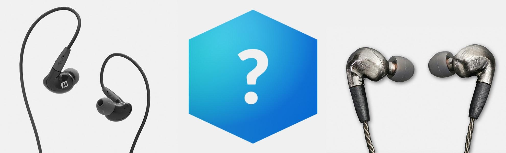 MEE Audio Pinnacle Blue Box