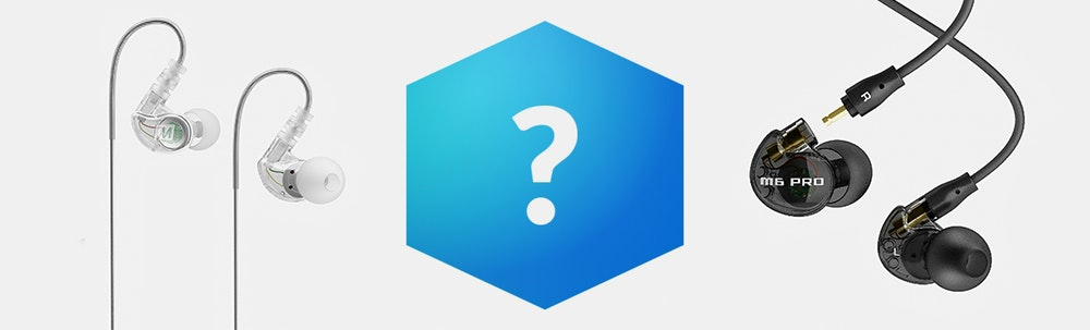 Massdrop Blue Box: MEE Audio IEMs