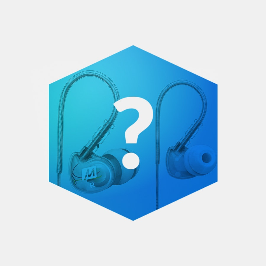 Massdrop Blue Box: MEE Audio IEMs