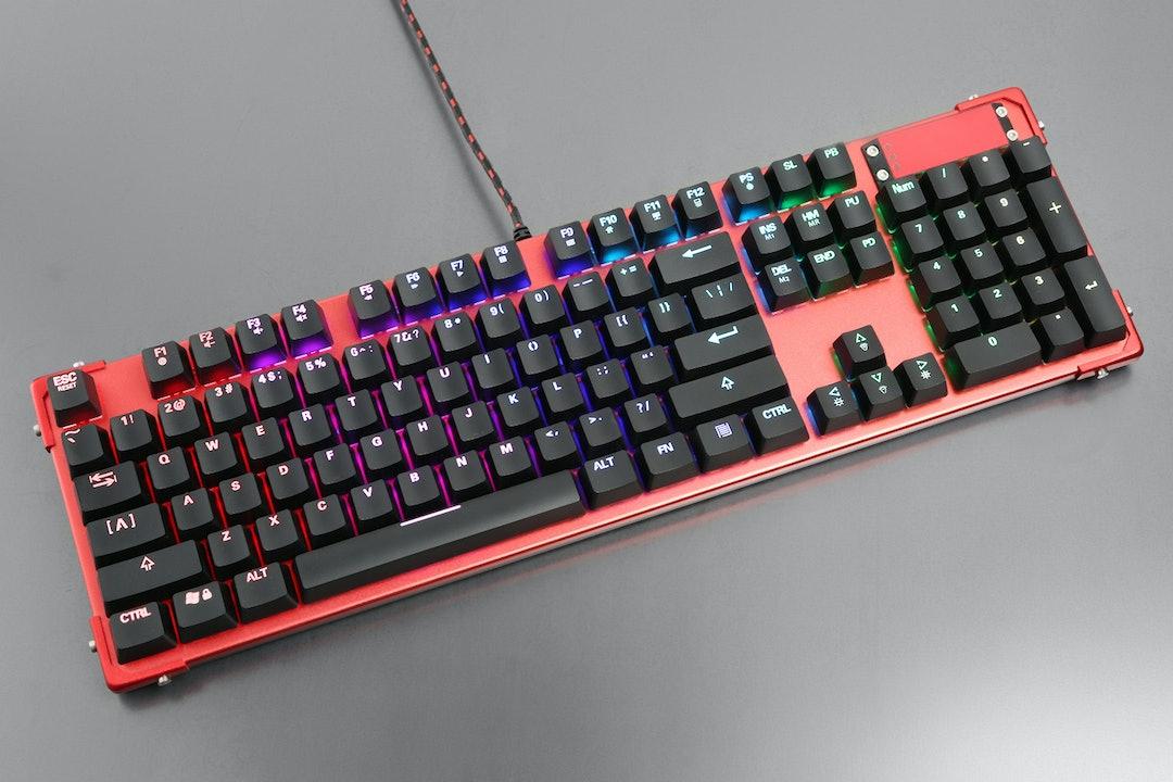 MeeTion MT-MK02 RGB Mechanical Keyboard
