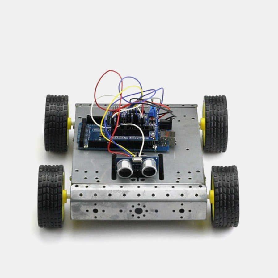 Mega 2560 R3 4WD Robot Kit Bundle for Arduino