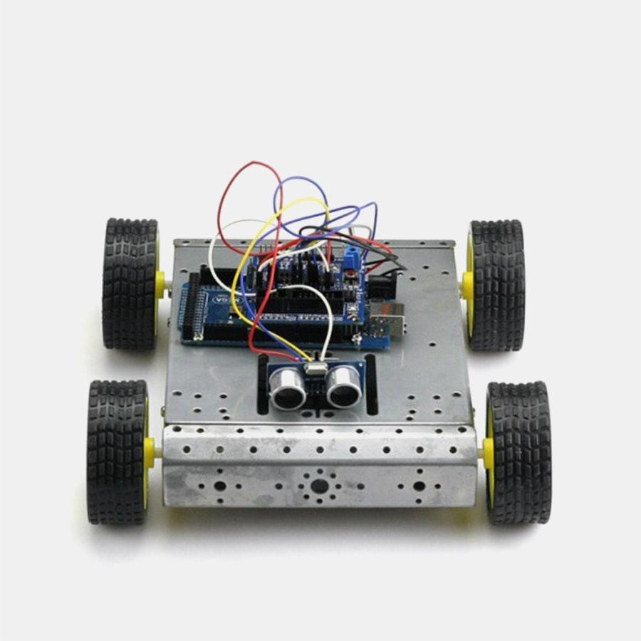 Mega 2560 R3 4WD Robot Kit Bundle for Arduino | Price