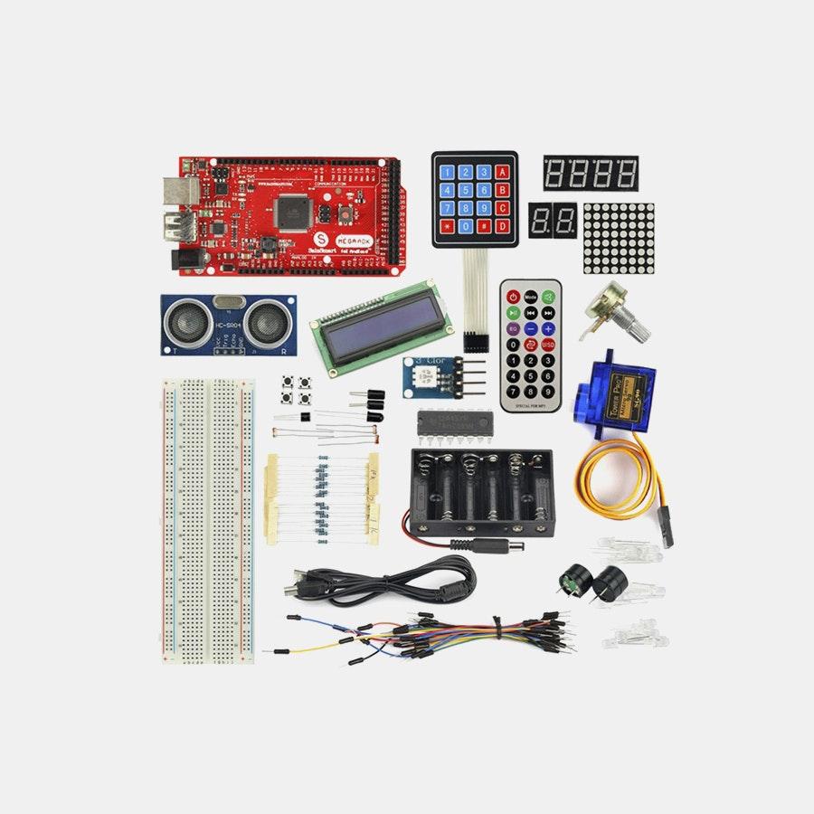 Mega ADK R3 + Keypad + Servo Motor Starter Kit