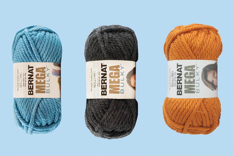 Mega Bulky Yarn by Bernat - 3PK