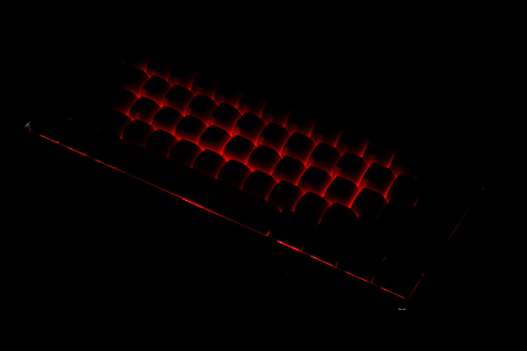 MelGeek Mojo60 Ember Bluetooth Mechanical Keyboard