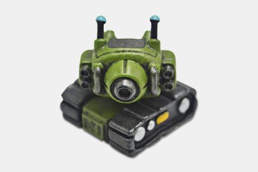 MeMeDa Tank Artisan Keycap