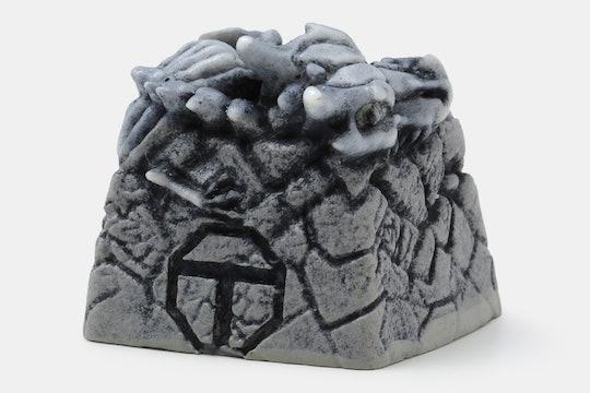 MEMEDA Bone Dragon Artisan Keycap