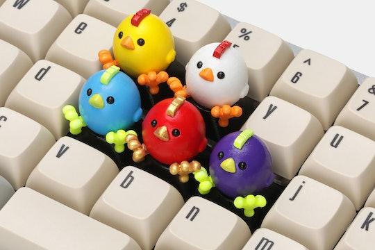 MEMEDA Chick Artisan Keycap
