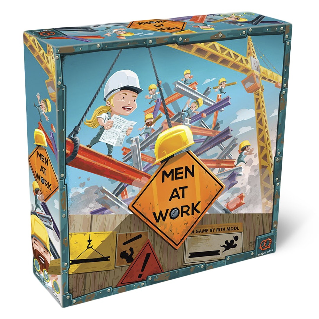 Men at Work Board Game