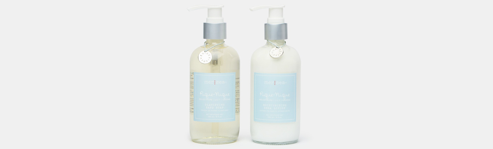 Mer-Sea & Co. Clarifying Hand Soap & Shea Lotion
