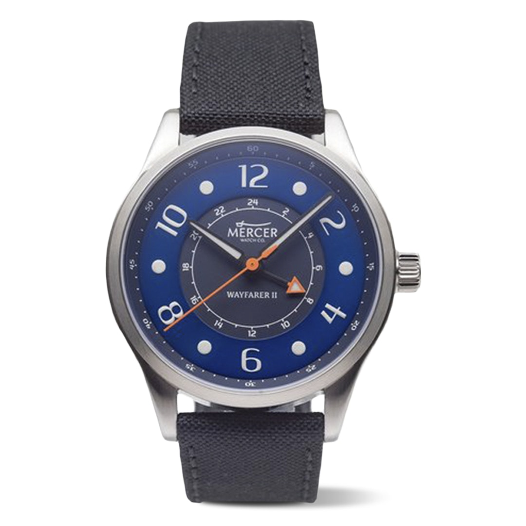 Mercer Wayfarer II GMT Quartz Watch