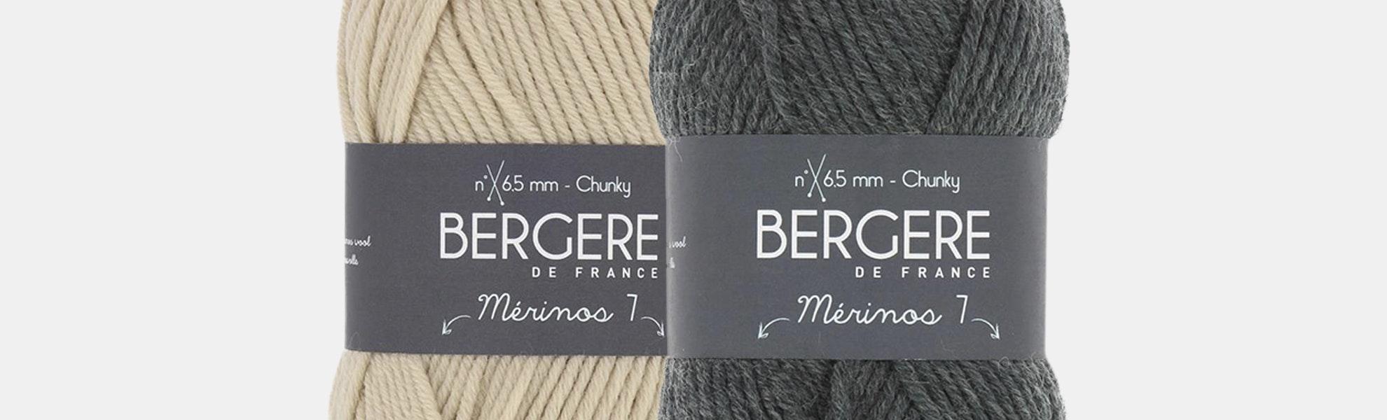Merinos 7 Yarn by Bergere De France (2-Pack)