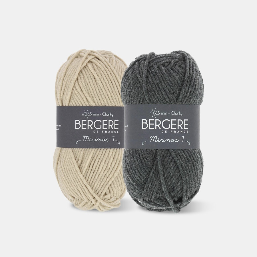 Merinos 7 Yarn by Bergere De France (2-Pack)