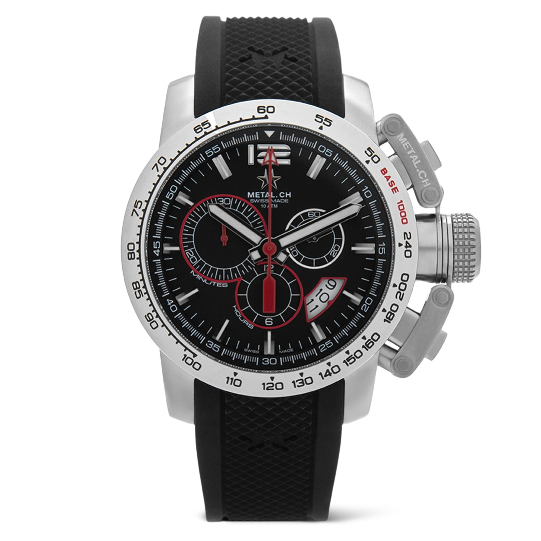 Metal.CH Chronosport Quartz Watch
