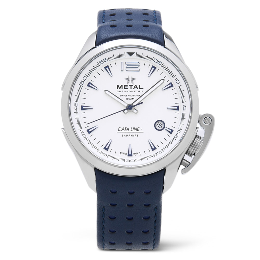 Metal.CH Data Line Quartz Watch