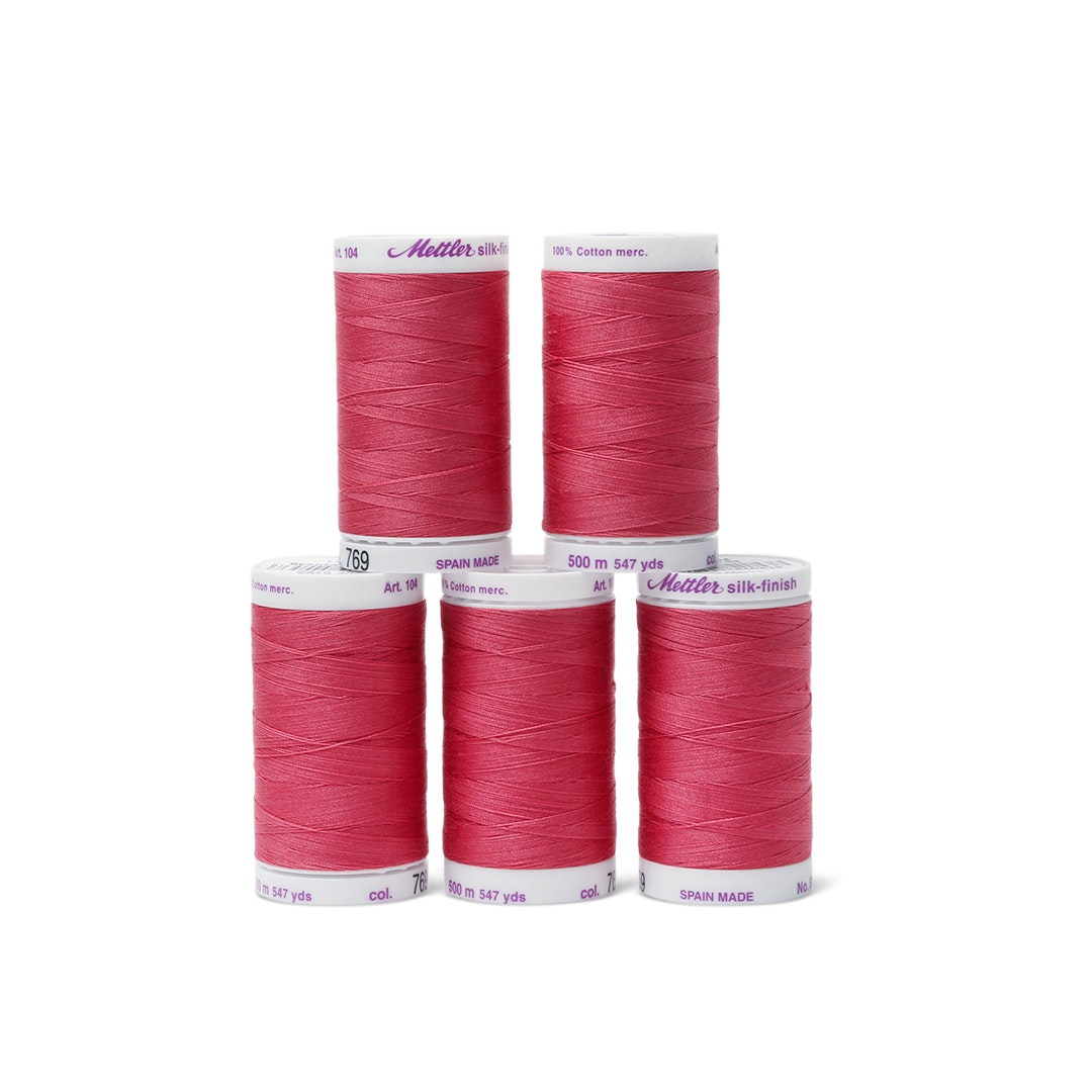 Mettler Silk Finish Cotton Thread Box (5 Count)
