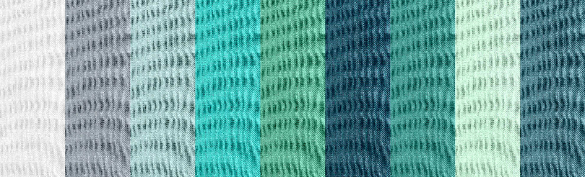 Cotton Couture Ocean Color Story Bolts