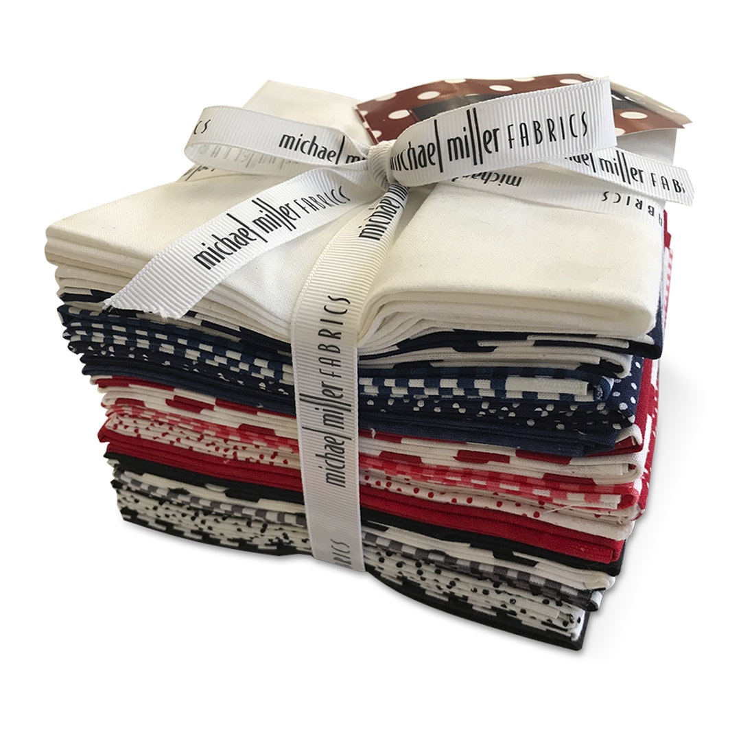 Michael Miller Patriotic Fat Quarter Bundle