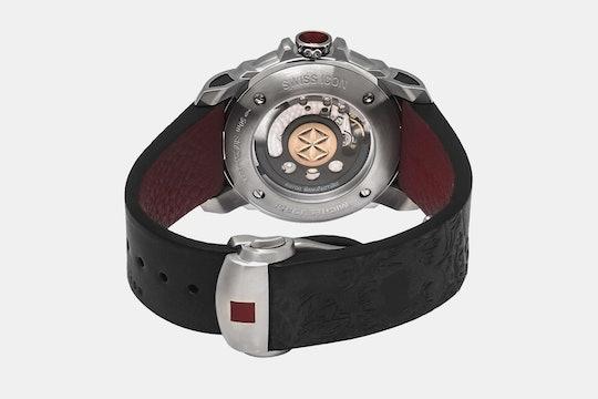 Michel Jordi Paradelplatz/Rhue du Rhone Automatic Watch