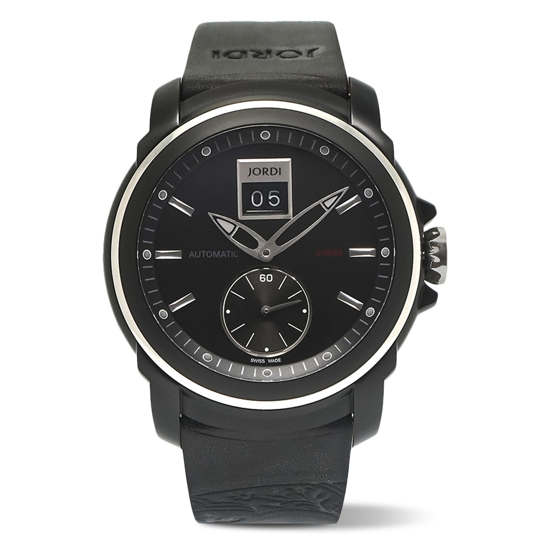 Michel Jordi Paradelplatz Black PVD Automatic Watch