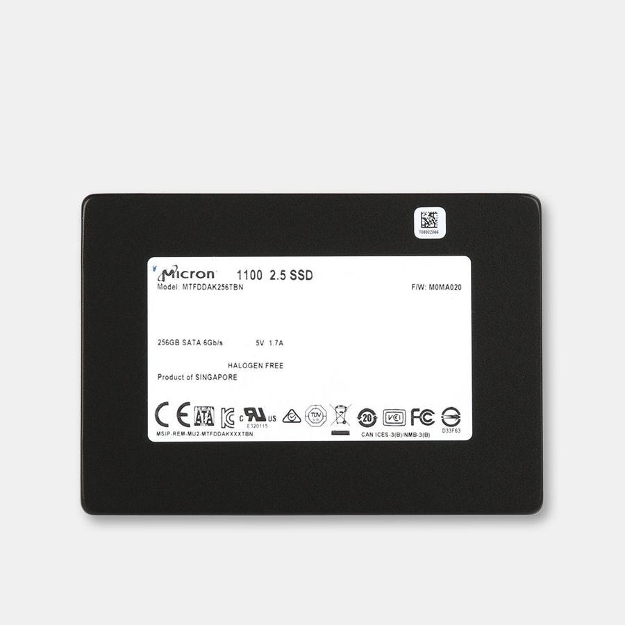 "Micron 1100 256GB 2.5"" SATA 6GB/s SSD Drive"