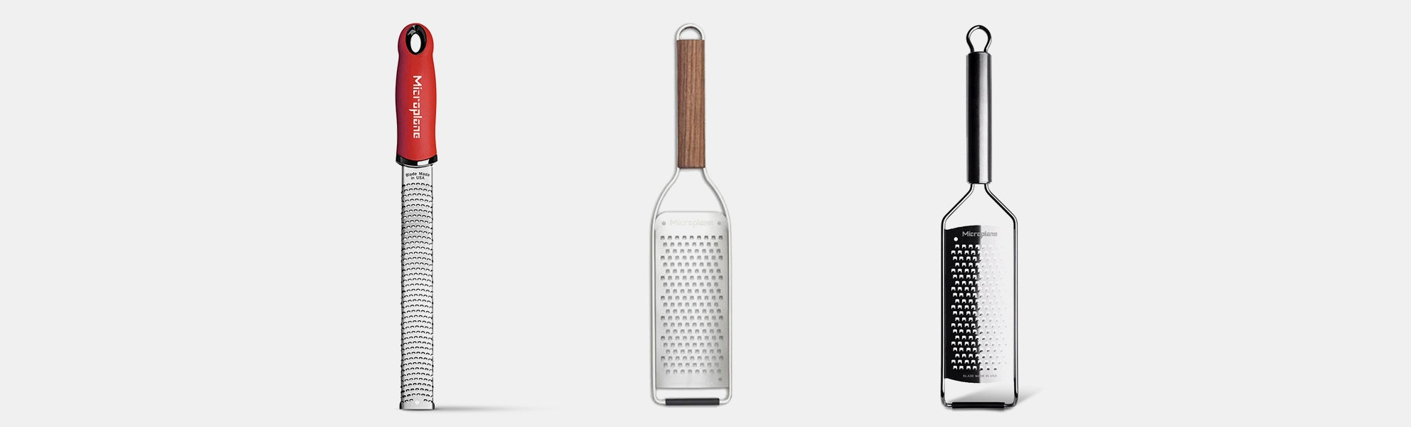 Microplane Zesters & Graters