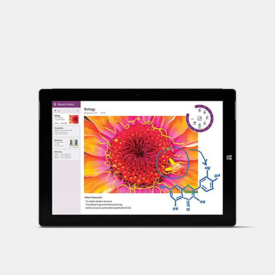 Microsoft Surface 3 128G w/ Windows 10 Professional
