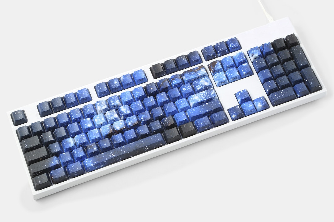 Midnight Galaxy PBT Dye-Subbed Keycap Set