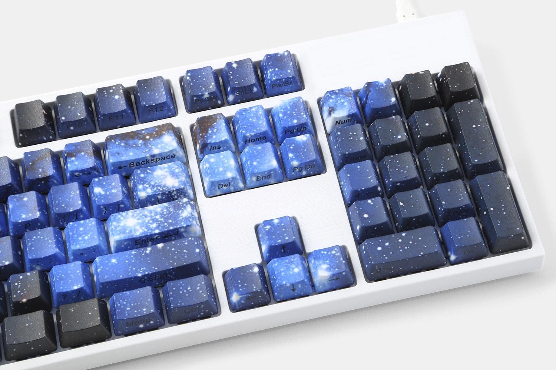 Midnight Galaxy PBT Dye-Subbed Keycap Set