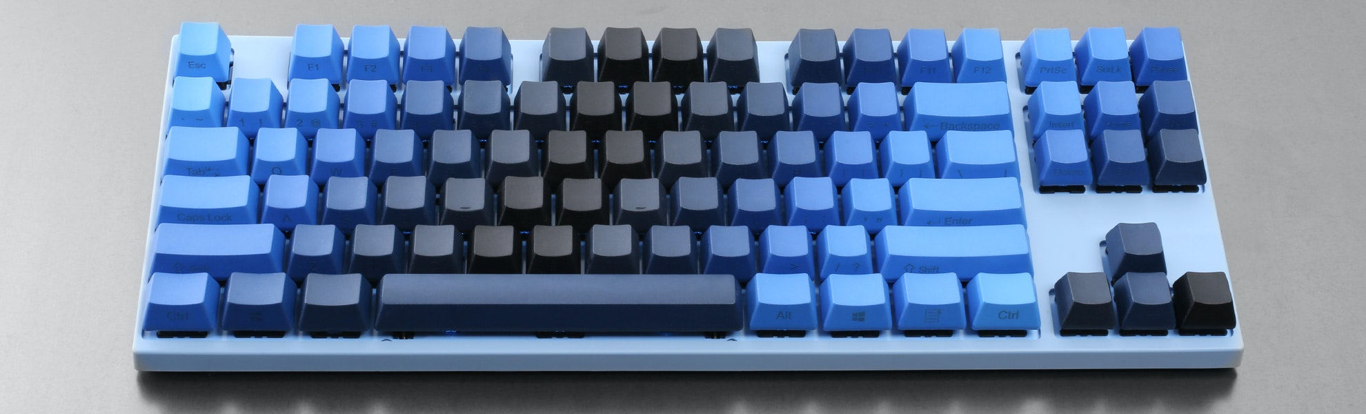 Midnight Gradient PBT Dye-Subbed Keycap Set