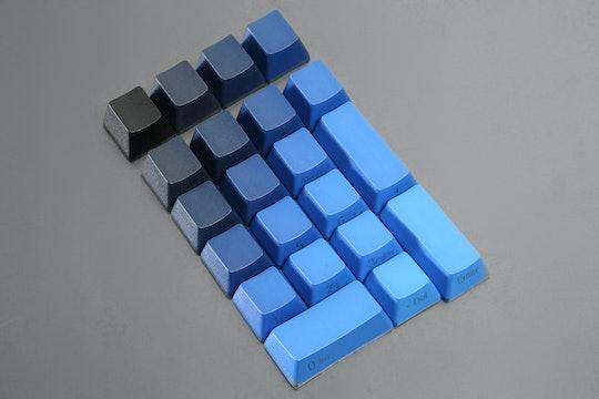 Midnight Gradient PBT Dye-Subbed Keycap Set