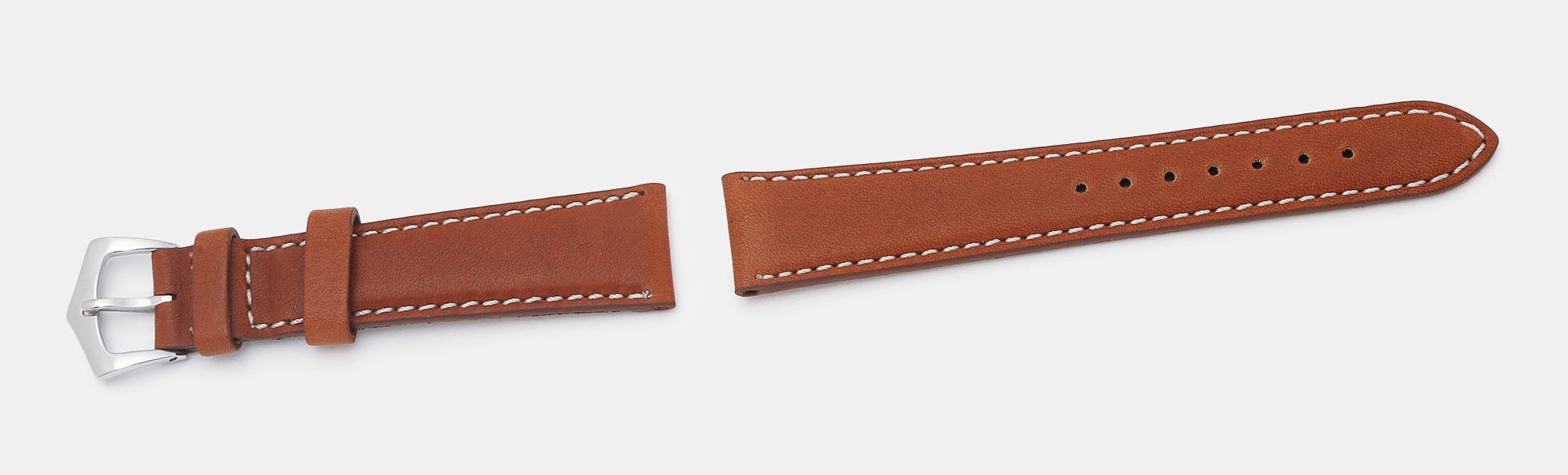 Milano Straps Barenia Leather Watch Strap