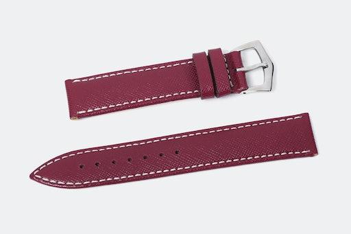 Milano Straps Saffiano Leather Watch Straps
