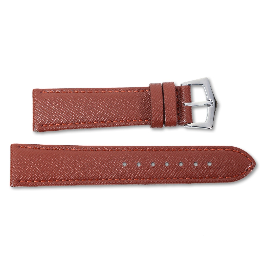 Milano Straps Saffiano Leather Watch Straps