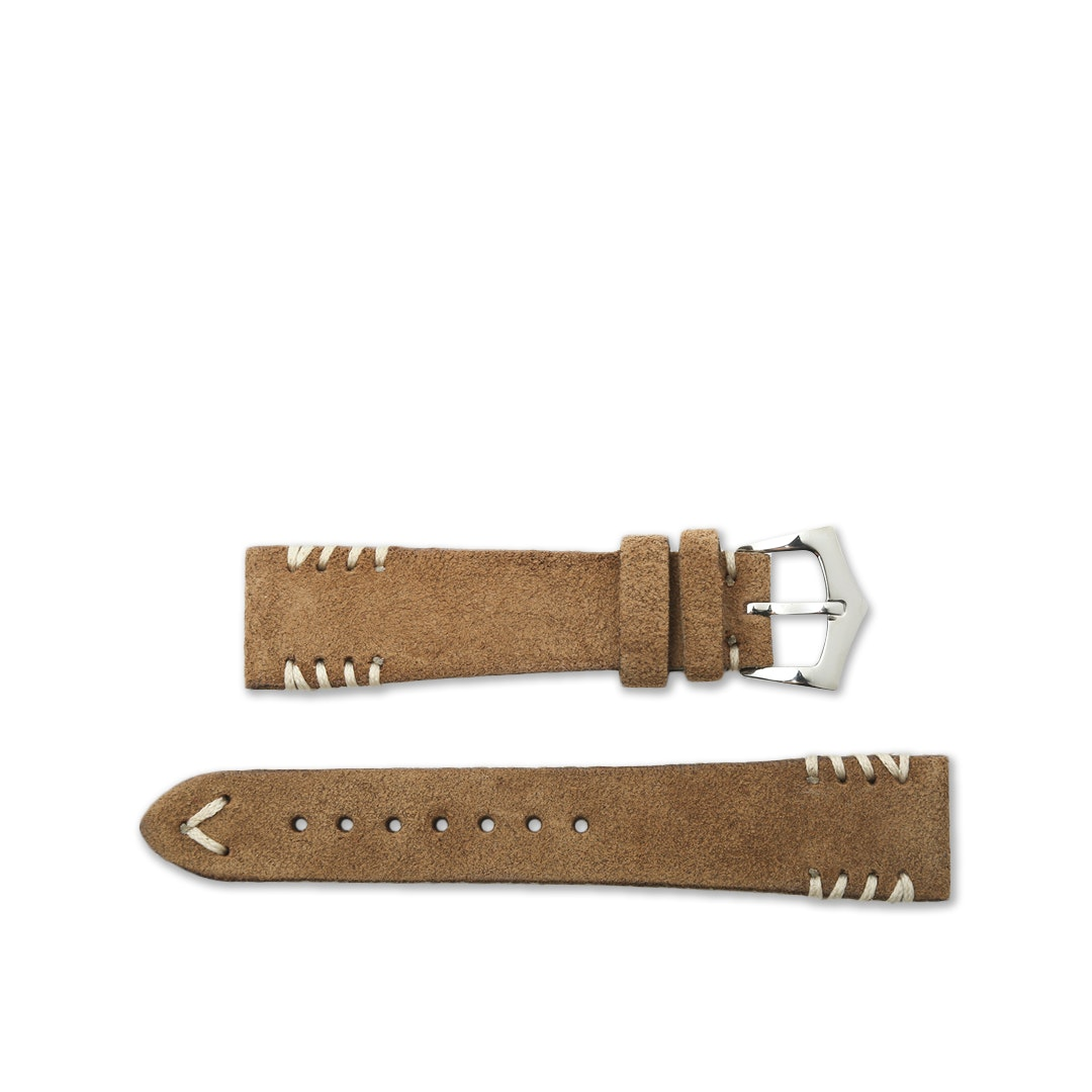 Milano Straps Tribal-Stitch Suede Watch Straps