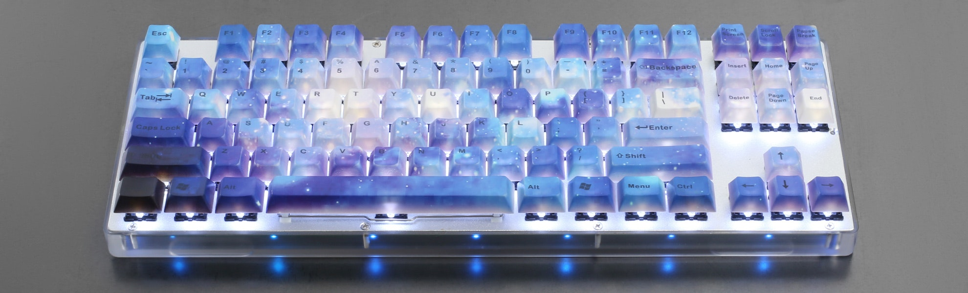 Milky Way PBT Dye-Subbed Keycap Set