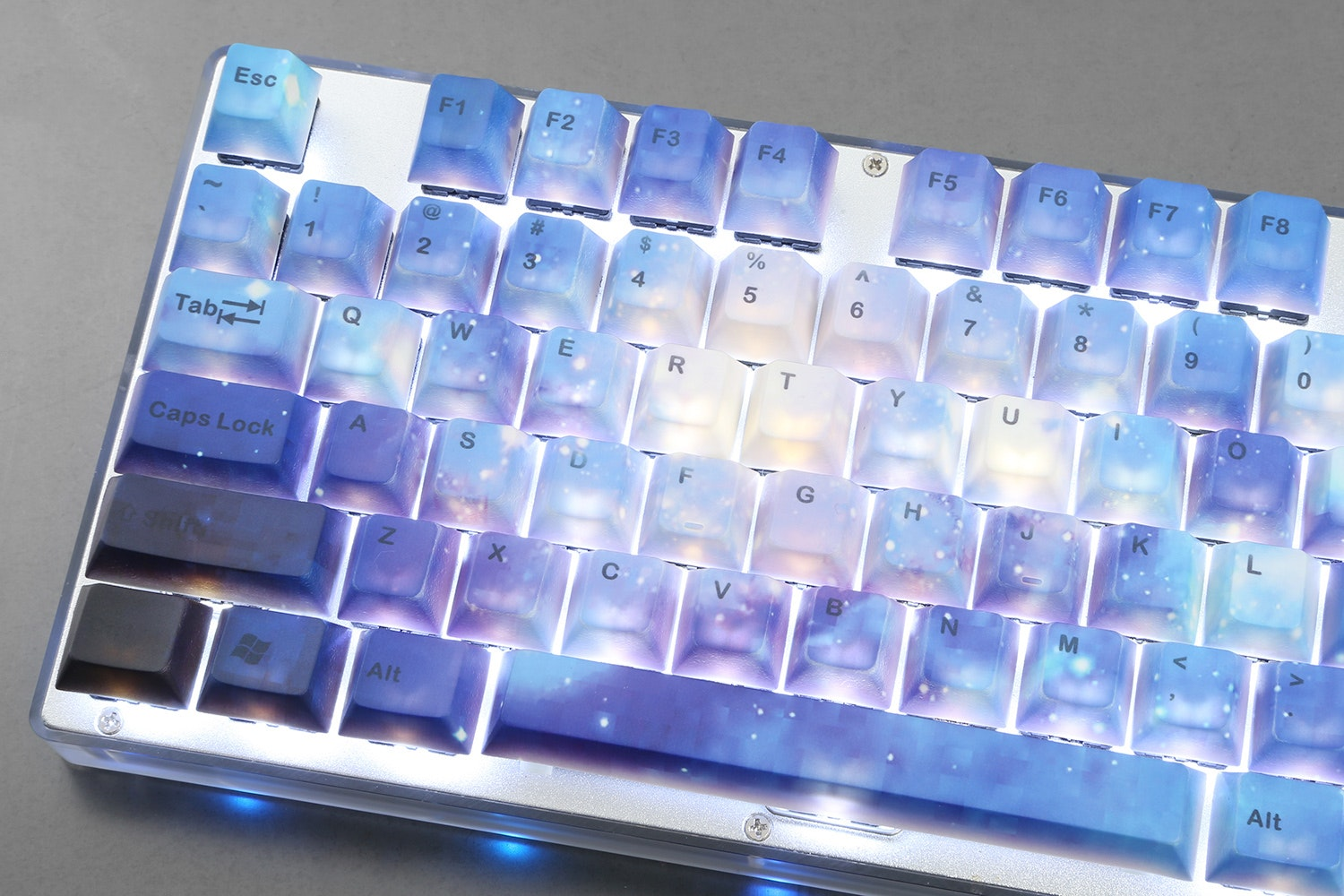 Milky Way PBT Dye-Subbed Keycap Set – Flash Sale