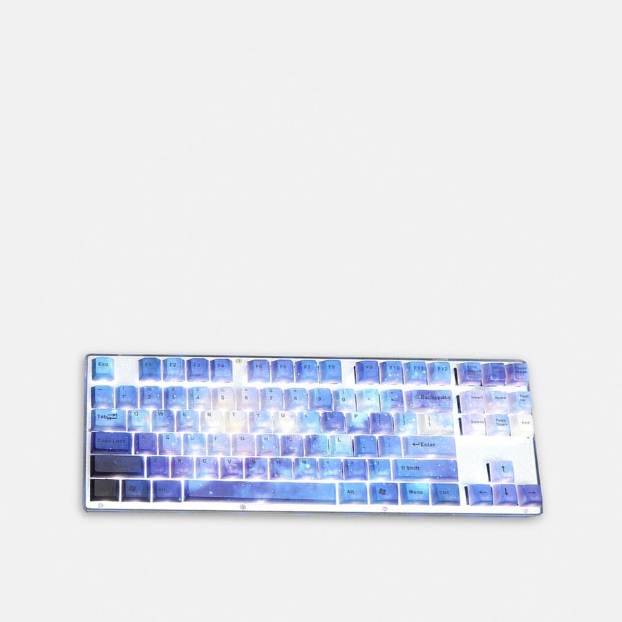 Milky Way PBT Dye-Subbed Keycap Set