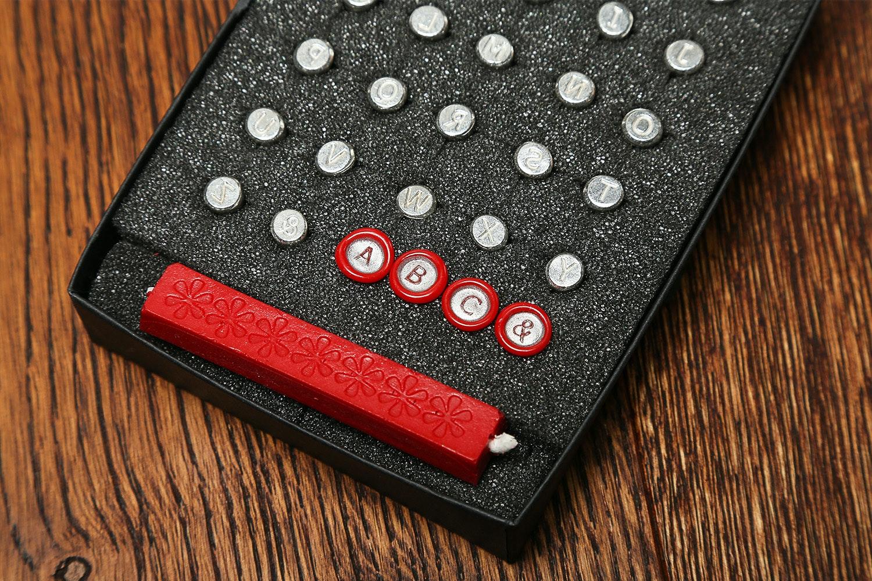 Mini Alphabets Wax Seal Set