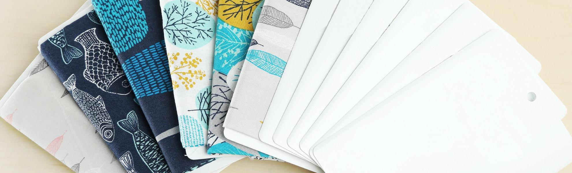 Mini Bolts Fabric Organizers