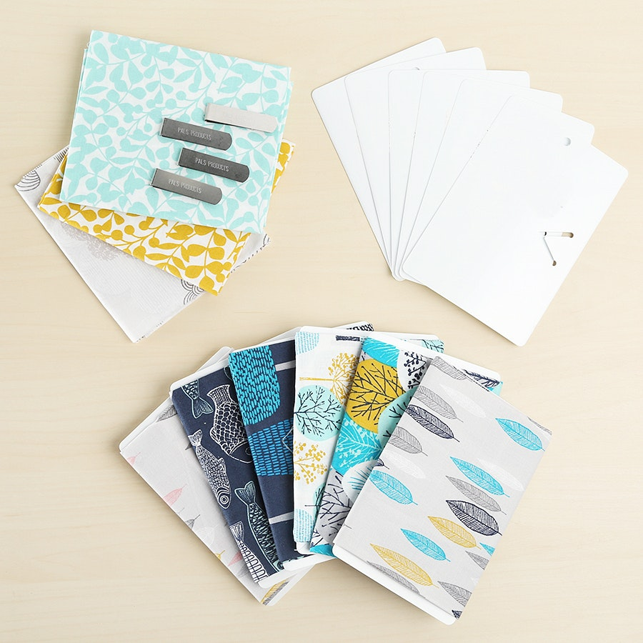 Mini Bolts Fabric Organizers