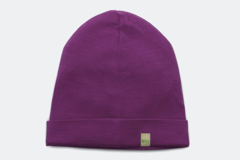 Ridge Cuff Beanie – Radiant Violet
