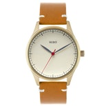 Creme dial/honey strap with gold case