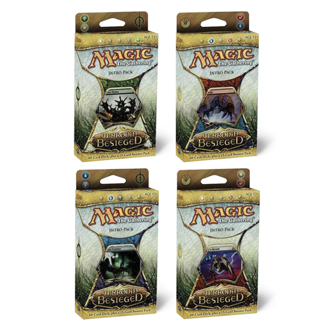MTG Mirrodin Besieged Intro Packs (Set of 4)