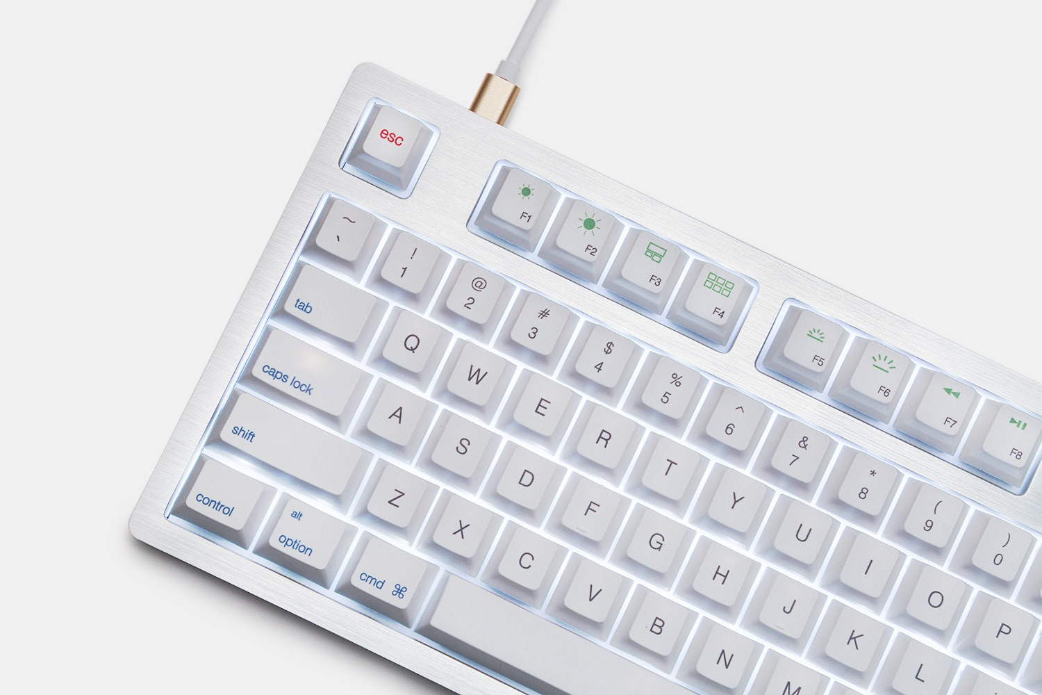Mistel MD870 SLEEKER Aluminum Mechanical Keyboard